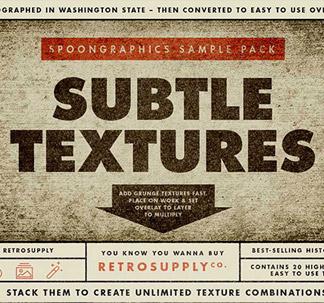 20 Subtle Grunge Textures