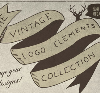Vintage Logo Elements (75 vectors)