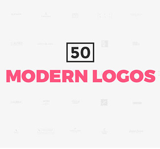 Modern Logo Templates (50 vectors)