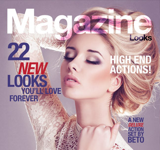 22 Magazine Looks Actions