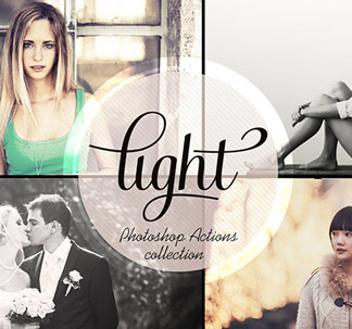 14 Light Photo Effect Actions