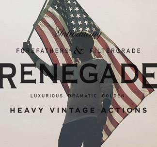 34 Renegade Photoshop Actions