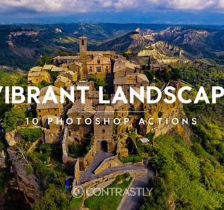 10 Vibrant Landscapes Actions