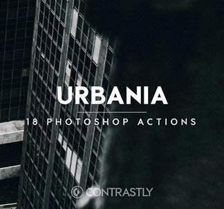 18 Urbania Photoshop Actions
