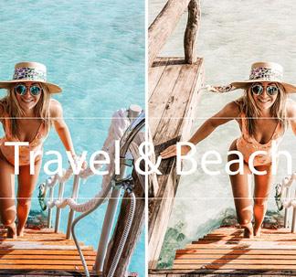 Travel & Beach Lightroom Presets