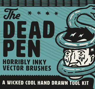 The Dead Pen Hand Drawn Toolkit