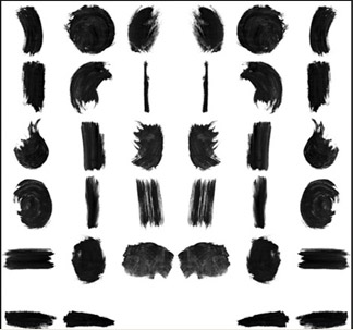 17 Watercolor Brushes