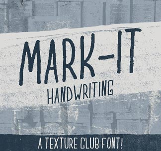 Mark-It Font