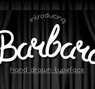 Barbara Brushpen Font