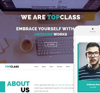 TopClass HTML5 Template