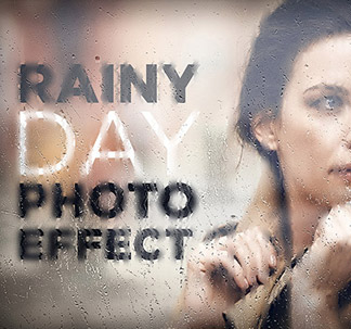 Rainy Day Photo Effect