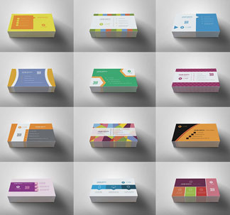 100 Minimal Business Card Templates