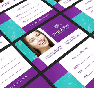 Dental Clinic Print Design Templates