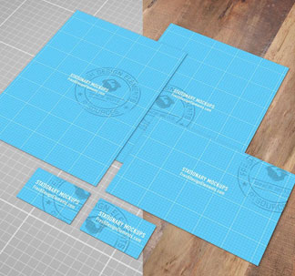 European Stationery Mockup