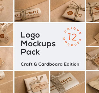 Craft Edition Logo Mockups Pack