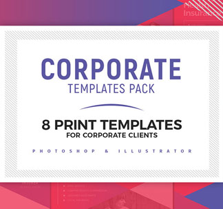 Corporate Print Design Templates