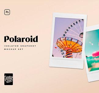 Polaroid Picture Mockup Templates