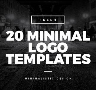 Minimal Logo Templates (20 vectors)