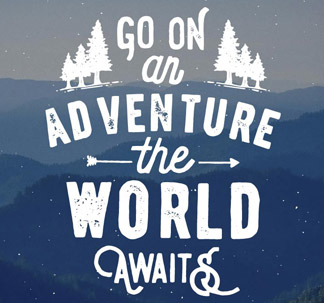 Hand Lettered Travel Quotes (8 vectors)