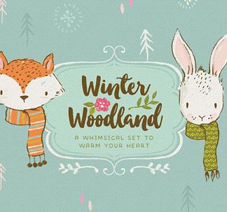 Winter Woodland Illustration Kit