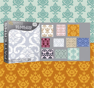 Seamless Pattern Vectors (10 vectors)