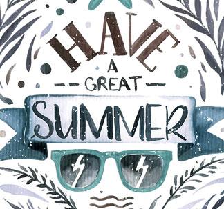 5 Vintage Style Summer Designs