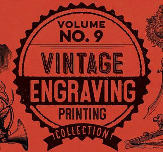 200+ Vintage Engravings