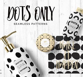 Dots & Spots Seamless Patterns