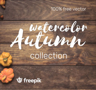 Autumn Watercolour Collection