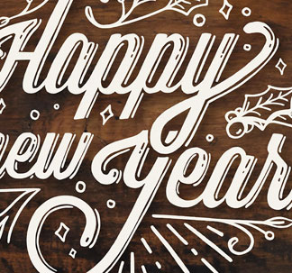 New Year Lettering Graphics