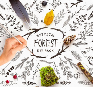 Mystical Forest DIY Pack