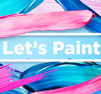 Let's Paint! Color Brush Strokes Pack