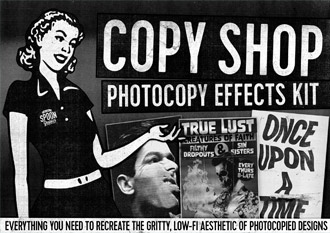 Copy Shop Photocopy Effects Kit