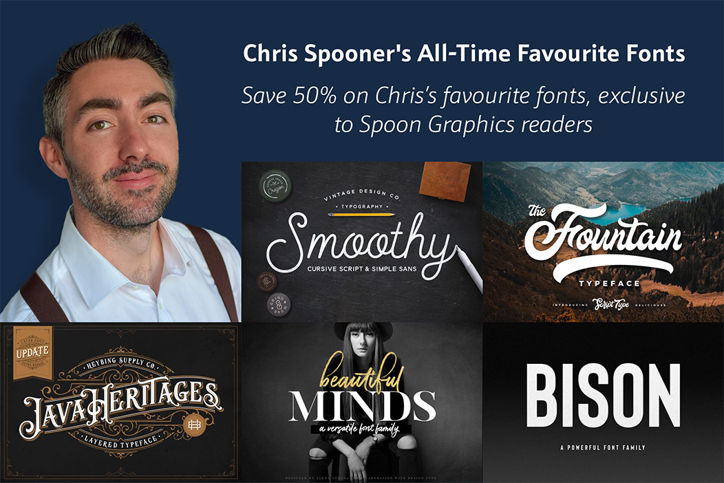 Chris Spooner's All-Time Favourite Fonts