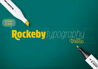 Rockeby font