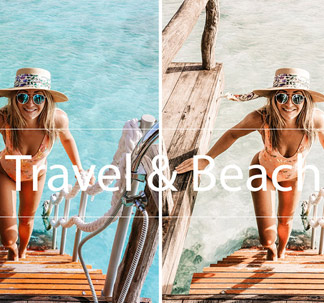 Travel & Beach Lightroom Presets