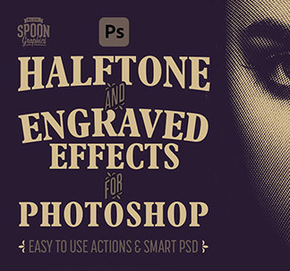 Halftone & Engraved Effects