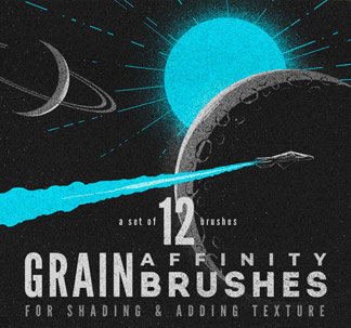 Affinity Grain Brushes