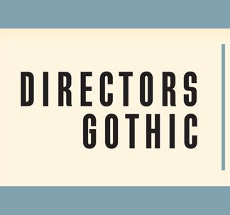 Directors Gothic Font