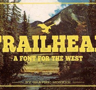 Trailhead Font