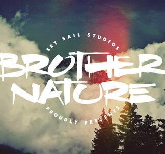 Brother Nature Font