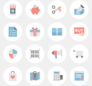 37 E-Commerce Icons