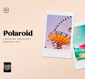 Polaroid Picture Mockup Templates