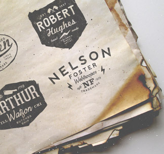 9 Vintage Logo Mockup Templates