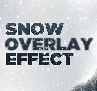 5 Snow Effect Overlay Textures