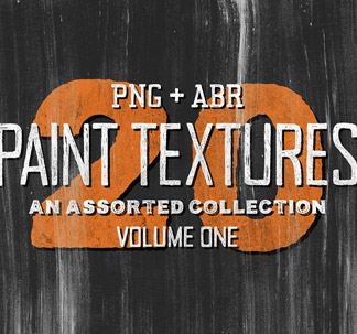 20 Assorted Paint Textures