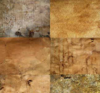 12 Grunge Paper Textures