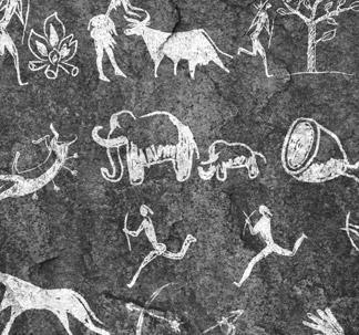 Cave Painting Vectors (18 vectors)