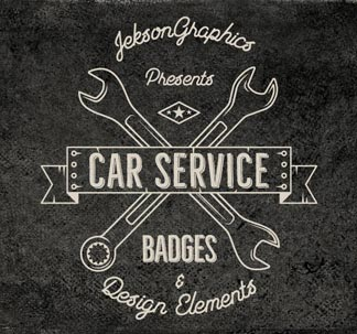 Car Badges and Elements