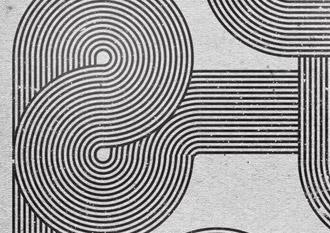 Retro Style Geometric Lines Illustrator & Photoshop Tutorial